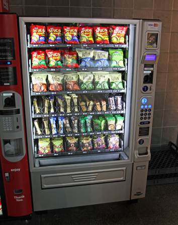 Coke Purchase New Snack Machines | Vending Direct